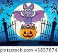 Halloween bat theme image 3 43837674