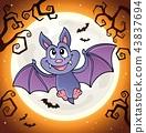 Cartoon bat topic image 1 43837694