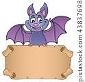 Bat holding parchment image 1 43837698