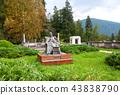 Queen Elisabeta statue in Peles castle 43838790