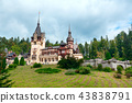 Peles castle in Sinaia, Romania 43838791