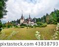 Peles castle in Sinaia, Romania 43838793