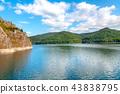 Landscape with Vidraru artificial lake 43838795