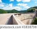 Vidraru dam on Arges river in Transylvania 43838798