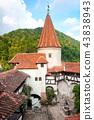 Medieval Bran Castle in Transylvania 43838943