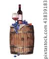 wine vine grape 43839183