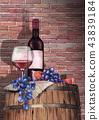wine vine grape 43839184