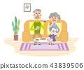 คู่สามีภรรยาสูงอายุ 43839506