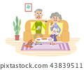 คู่สามีภรรยาสูงอายุ 43839511