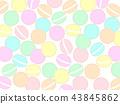 유니콘 컬러의 마카롱 프레임 43845862