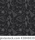 birthday,pattern,vector 43846639