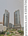 a hotels and apartment buildings at tko 43846706