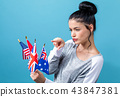 Flags of English speaking countries 43847381