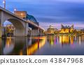 Chattanooga, Tennessee, USA Skyline 43847968