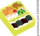 午餐盒 43849968