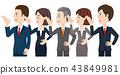 男性和女性的業務團隊 43849981