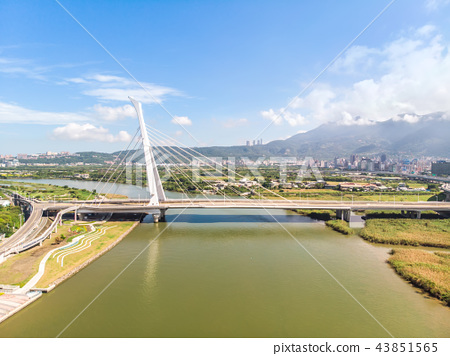 Shezi Bridge, landmark, Taipei, attraction 43851565