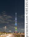2020 도쿄 올림픽 _ 스카이 트리 조명 43853053