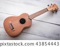 isolated ukulele guitar 43854443