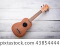isolated ukulele guitar 43854444