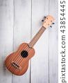 isolated ukulele guitar 43854445
