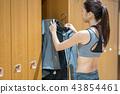 체육관, 여성, 여자 43854461