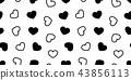 heart, vector, seamless 43856113