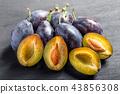 梅干 水果 健康食品 43856308