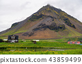 Scenic view of Hellnar fishing village ,Iceland. 43859499