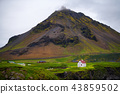 Scenic view of Hellnar fishing village ,Iceland. 43859502