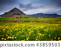 Scenic view of Hellnar fishing village ,Iceland. 43859503