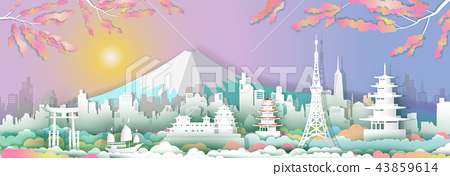Traveling go to japan. 43859614