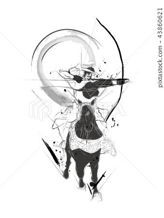 鏑 horse art 43860621