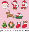 ถัก _ เส้นด้ายหนา _ ขอบคริสต์มาส _ พีช _ โปร่งใส 43860950
