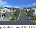城市景观 43861322