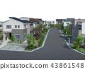 市容 居住區 住宅區 43861548
