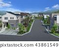 市容 居住區 住宅區 43861549