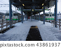 홋카이도 하코다테 하코다테 역 하코다테 본선 홈 43861937