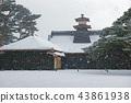 홋카이도 하코다테 고료 카쿠 공원 하코다테 봉행 소 43861938