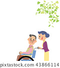 Wheel Chair, wheel-chair, wheelchair 43866114