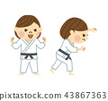 柔道女人 43867363