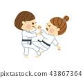 柔道女人 43867364