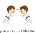 柔道男子 43867366