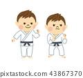 柔道男子 43867370