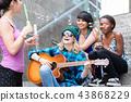 bubble transparent guitar 43868229