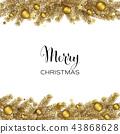 christmas, background, frame 43868628