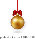 christmas background vector 43868738