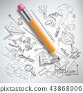 pencil sketch science 43868906