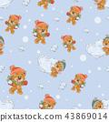 teddy,seamless,pattern 43869014