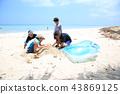beach, beaches, family 43869125